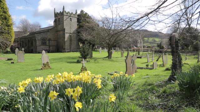 Parish Church at Beeley, Beeley, Derbyshire, England, UK, Europe