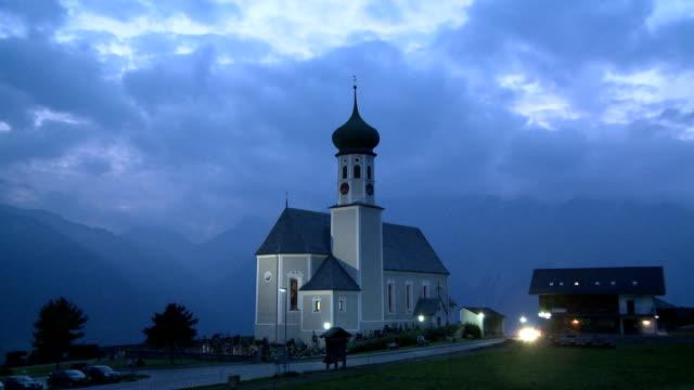parish church st. bartholomäus - traditionally austrian stock videos & royalty-free footage