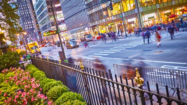 Park en stad straat