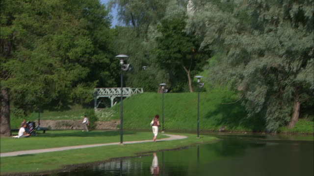 Park and River, Helsinki, Finland