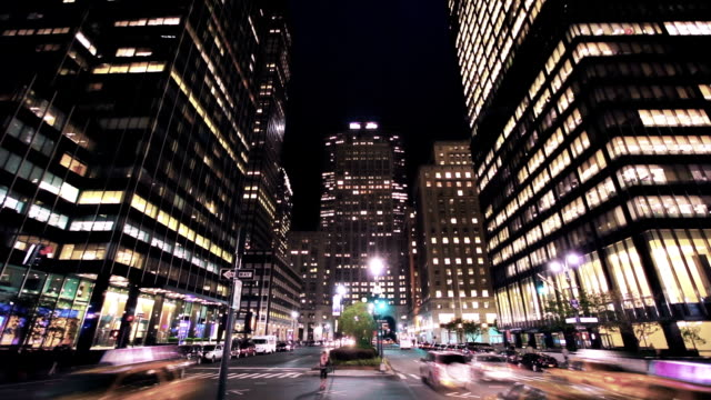park avenue in new york - manhattan new york city stock videos & royalty-free footage