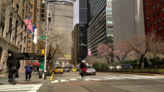 Park Avenue. New York. Spring