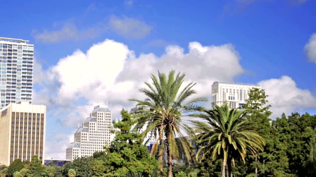 park eola in orlando, florida. - orlando florida stock videos & royalty-free footage