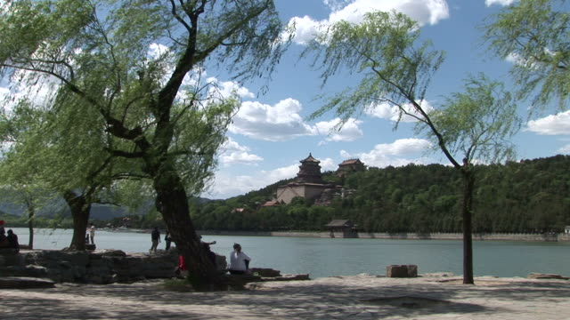 Park in Summer Palace Beijing China