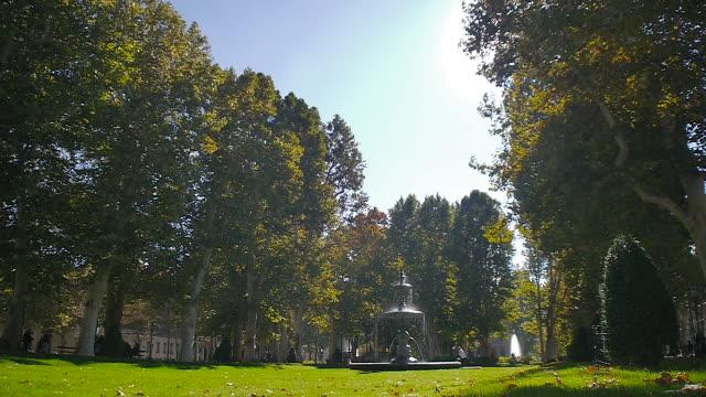 park in zagreb, croatia - zagreb stock videos & royalty-free footage