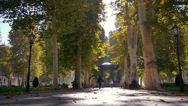 park in zagreb, croatia - zagreb stock videos and b-roll footage