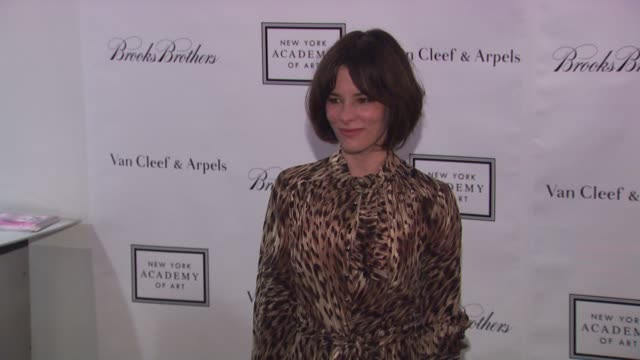 parker posey at the 2010 tribeca ball benefiting the new york academy of art at new york ny. - parker posey stock videos & royalty-free footage
