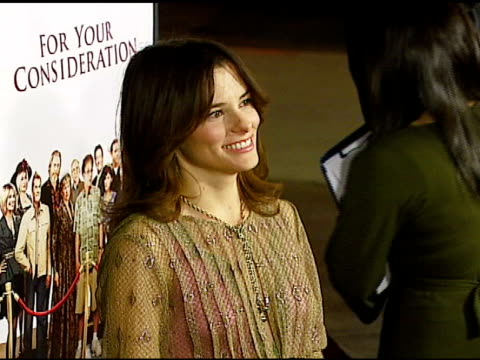 parker posey at the 'for your consideration' los angeles premiere at director's guild of america in los angeles california on november 13 2006 - director's guild of america stock-videos und b-roll-filmmaterial