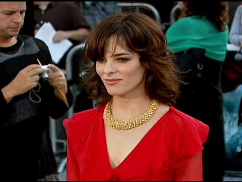 parker posey at the 'superman returns' premiere at the mann village theatre in westwood, california on june 21, 2006. - parker posey stock videos & royalty-free footage