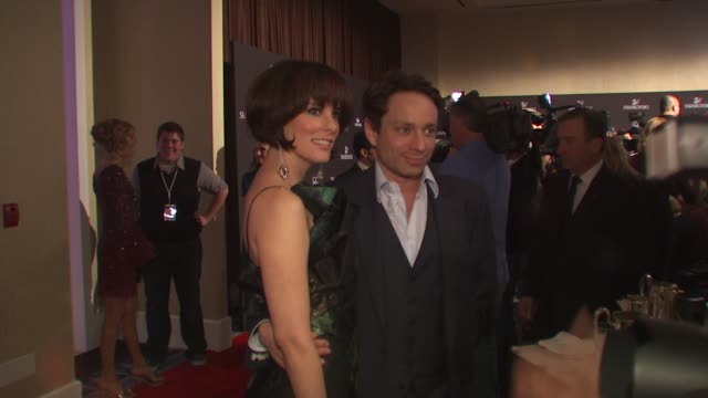 parker posey, chris kattan at the 12th annual costume designers guild awards at beverly hills ca. - parker posey stock videos & royalty-free footage
