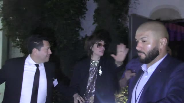 parker posey leaves the lost in space after party at lure nightclub in hollywood in celebrity sightings in los angeles, - parker posey stock videos & royalty-free footage