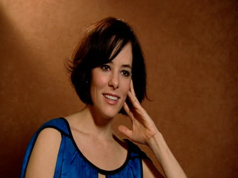 parker posey on doing the sex on the jellyfish scene at the 59th berlin film festival: happy tears interviews at berlin . - parker posey stock videos & royalty-free footage