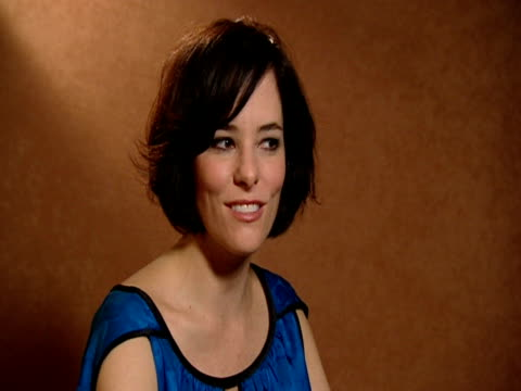parker posey on how funny demi moore is in reality at the 59th berlin film festival: happy tears interviews at berlin . - parker posey stock videos & royalty-free footage