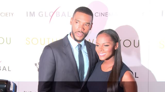 Parker Sawyers and Tika Sumpter at Southside With You screening at Sunshine Landmark on August 24 2016 in New York City