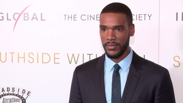 Parker Sawyers at Southside With You screening at Sunshine Landmark on August 24 2016 in New York City