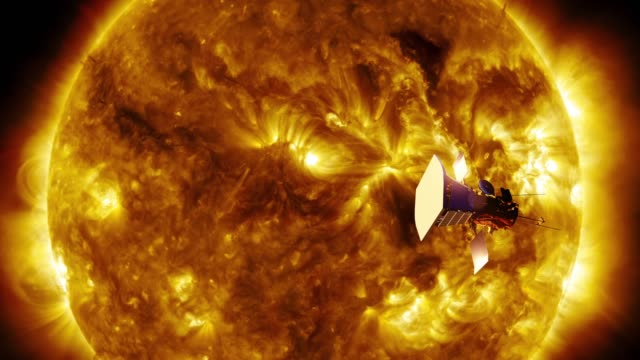 parker solar probe - nuclear energy stock videos & royalty-free footage