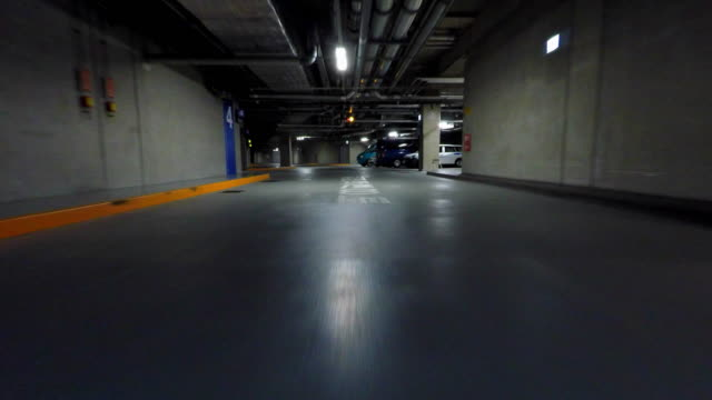 parking -4k- - ceiling stock videos & royalty-free footage