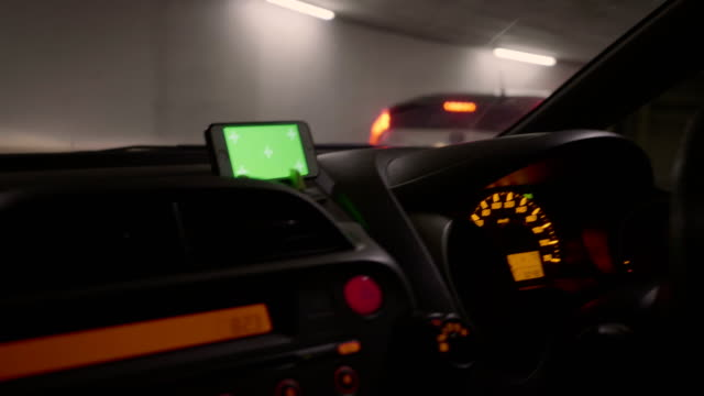 parking : chroma key driver using a smart phone - parking stock videos & royalty-free footage