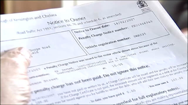 Derbyshire farmer receives London fine Smart examining penalty charge notice