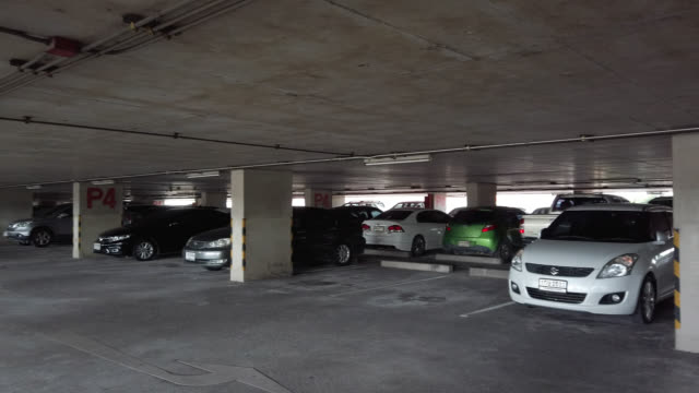 parking garage - car park stock videos & royalty-free footage