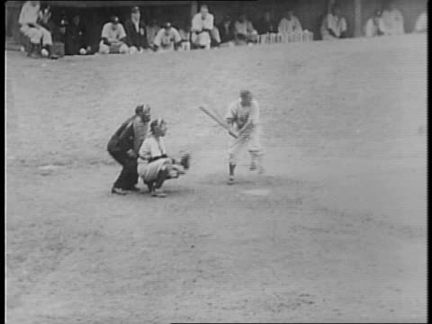 parking lot outside yankee stadium / fans lined up / jack cobb, last fan to get one, kisses his world series ticket / crowds, girl waves / rival... - 1941 stock videos & royalty-free footage