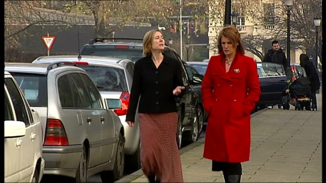appeals more successful in some areas than others london setup shot of reporter walking with liz edwards liz edwards interview sot recounts how she... - parking ticket stock videos & royalty-free footage