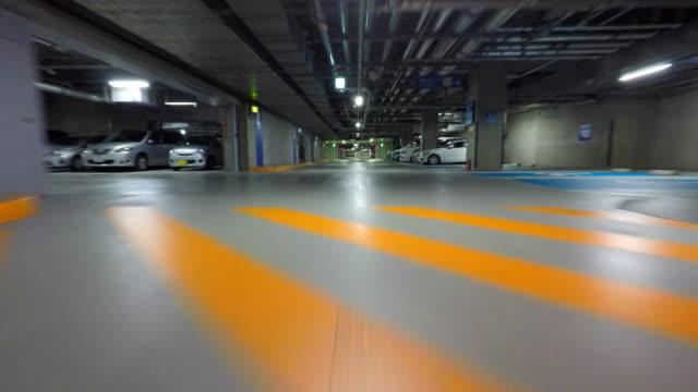parcheggio a pagamento - 4 k - luoghi geografici video stock e b–roll