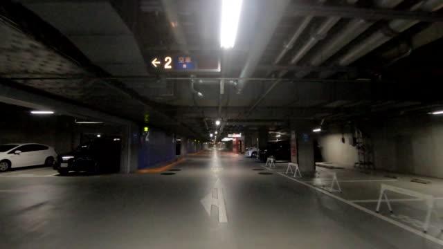 vídeos de stock e filmes b-roll de parking - teto