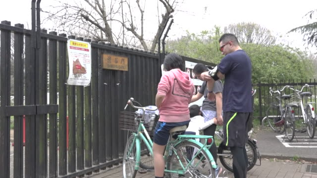 parks in tokyo closed in the last 24 hours to avoid mass gatherings during the coronavirus pandemic the city isn't yet on lockdown - japan stock videos & royalty-free footage