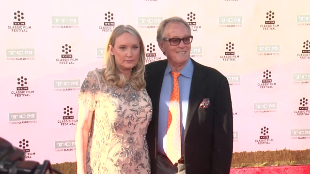 parky fonda peter fonda at the 50th anniversary screening of the sound of music at tcl chinese theatre imax on march 26 2015 in hollywood california - tcl chinese theatre stock videos & royalty-free footage
