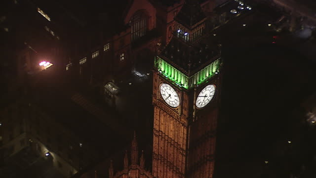 parliament at night - big ben stock videos & royalty-free footage