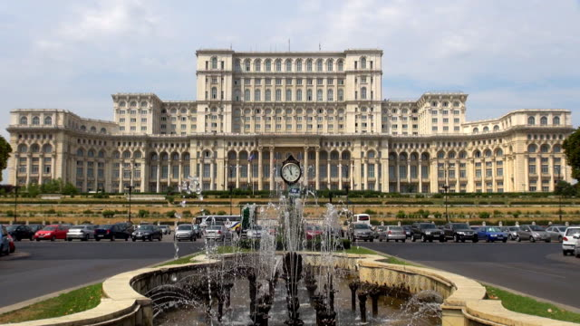 parliament - bucharest, romania - romania stock videos & royalty-free footage