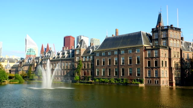 stockvideo's en b-roll-footage met parliament buildings in the hague - politiek