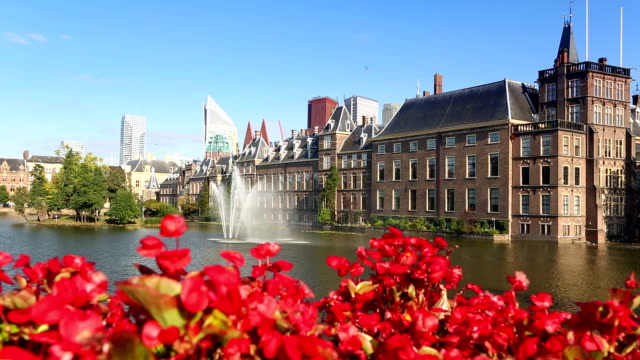 parliament buildings in the hague - the hague stock videos and b-roll footage