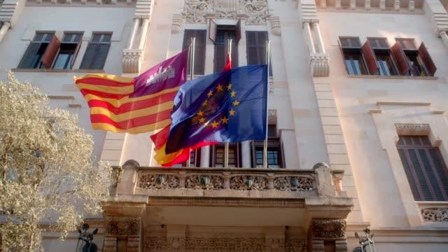 stockvideo's en b-roll-footage met deuren van het parlement - spanish culture