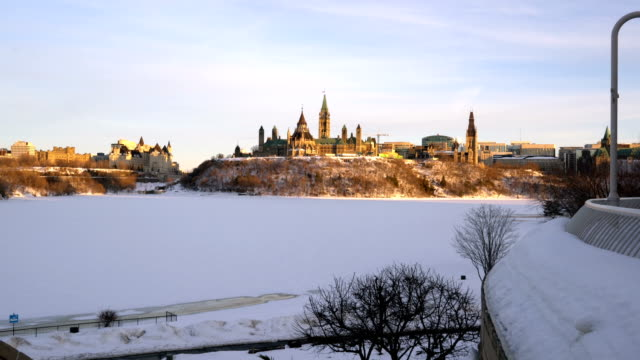 parliament hill at sunset - parliament hill stock videos & royalty-free footage