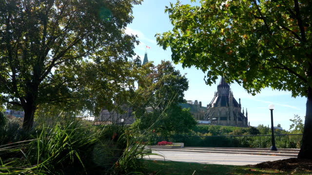 parliament hill in autumn - parliament hill stock videos & royalty-free footage