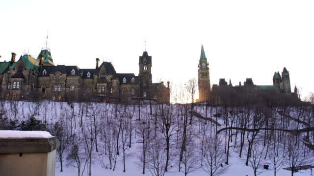 parliament hill in ottawa - ottawa stock videos & royalty-free footage