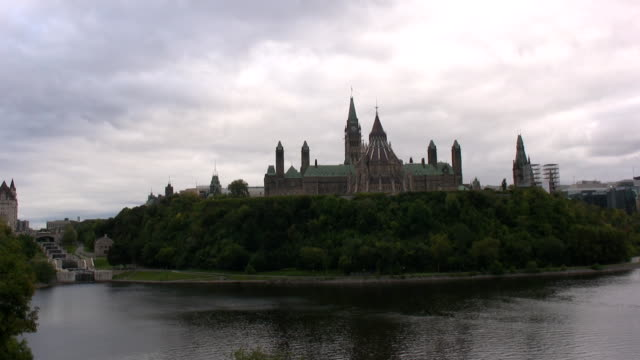 parliament hill in ottawa/canada - parliament hill stock videos and b-roll footage