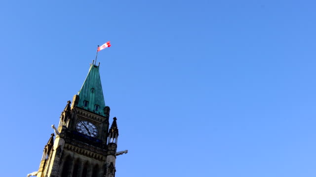 parliament hill of canada - ottawa stock videos and b-roll footage