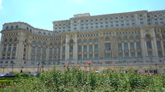 parliament of bucharest - romania stock videos & royalty-free footage