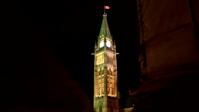Parliament of Canada, Clock Tower - time lapse