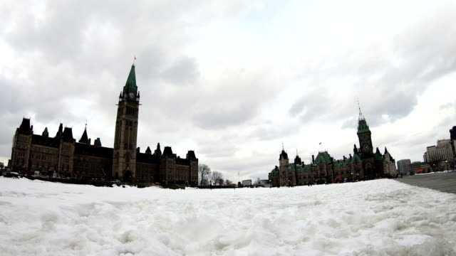 parliament of canada, ottawa, ontario, canadian tradition - parliament hill stock videos & royalty-free footage
