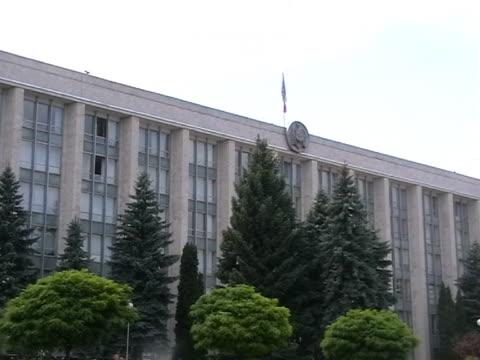 parliament of moldova - moldova stock videos and b-roll footage