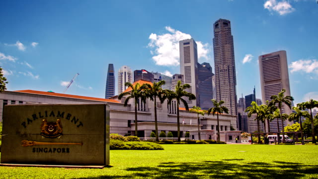 parliament singapore - parliament building stock videos & royalty-free footage