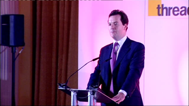 parliamentarian of the year awards: speeches; george osborne mp speech sot - jokes about mandelson leaving / jokes about mandelson being the guy he... - vince cable stock videos & royalty-free footage