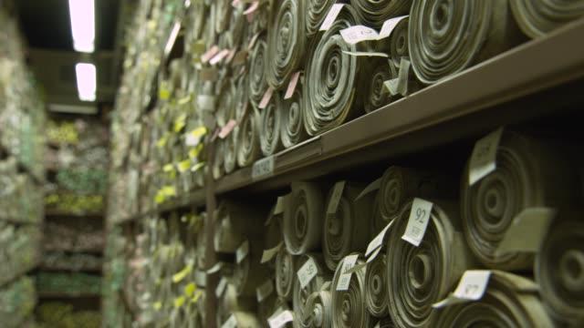 Parliamentary scrolls recording UK law, London