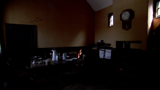 parlour of a victorian home. available in hd. - rustic stock videos & royalty-free footage