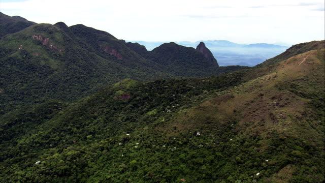 Parque Nacional Da Serra Dos Orgao  - Aerial View - Rio de Janeiro, Magé, Brazil