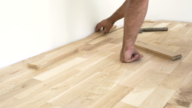 Wood Laminate Flooring Videos And B Roll Footage Getty Images
